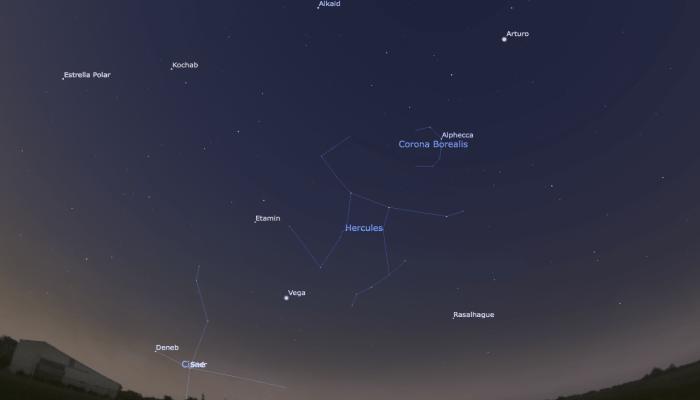 Constelación de hércules