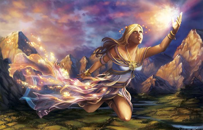 Hemera diosa del dia