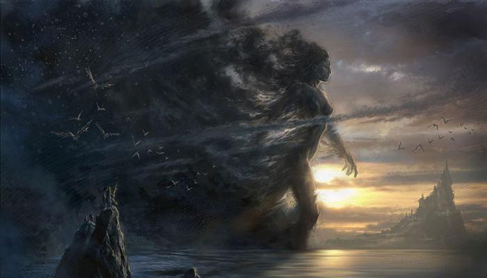 Mitos de Nyx diosa de la nohe