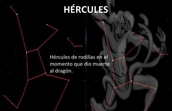 Mitos de la constelación de hércules