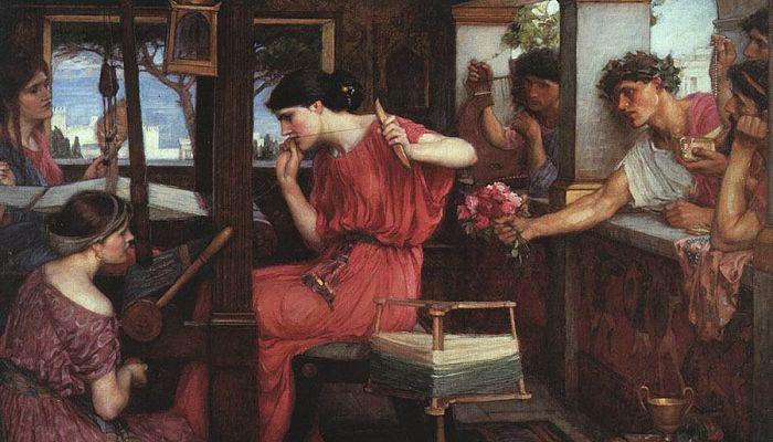 Penélope y los pretendientes