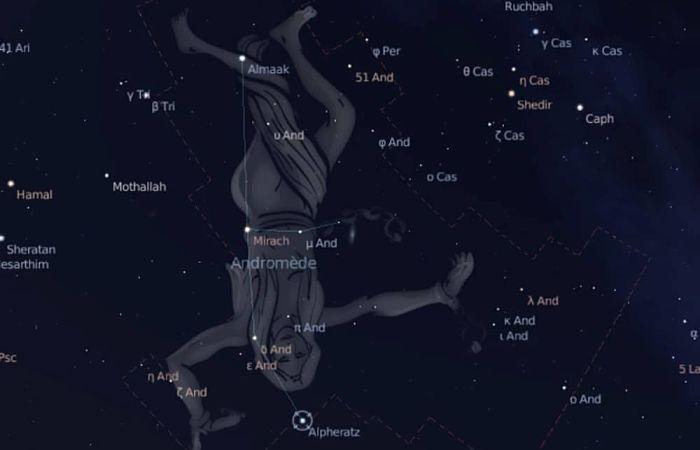 Constelación de Adromeda