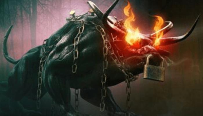 Rolling Calf es un ser de la Mitología de Colombia con apariencia de toro