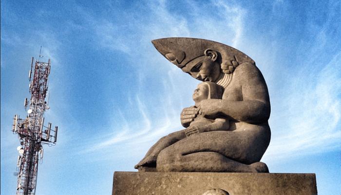 Diosa Chía de la mitología colombiana