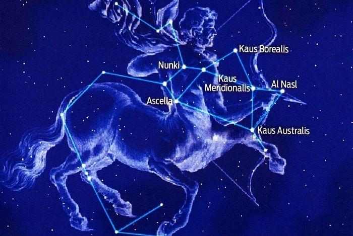 Estrellas de la constelación de sagitario