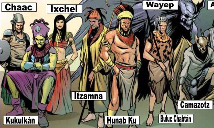 Itzamná dios maya