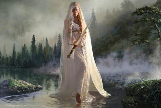 2)La dama del lago