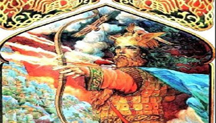 Pērkons, máxima autoridad mitológica.