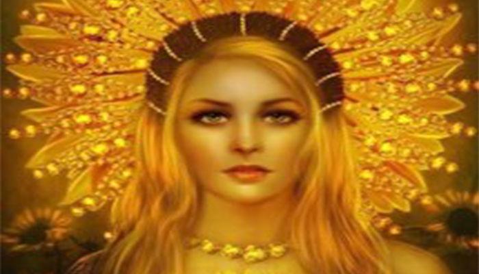 3) Saulë, gobernante del sol.