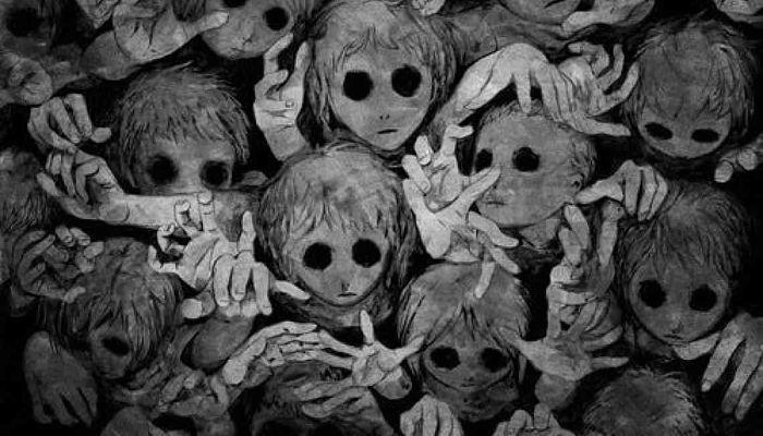 niños de los ojos negros