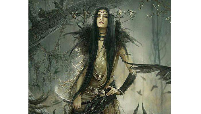 Manat diosa de la muerte y la oscuridad