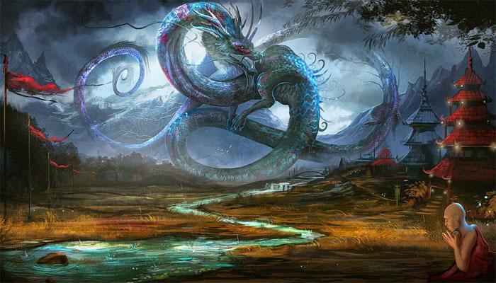Ryujin dios dragón
