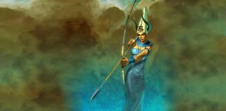 Satis diosa de la guerra egipcia