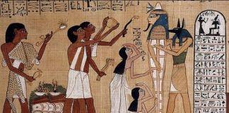 Mitología egipcia en el arte