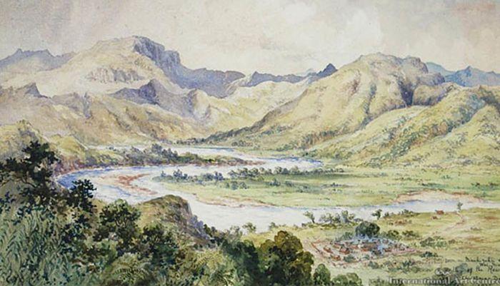 La Creación de Fiyi y del Dios Serpiente