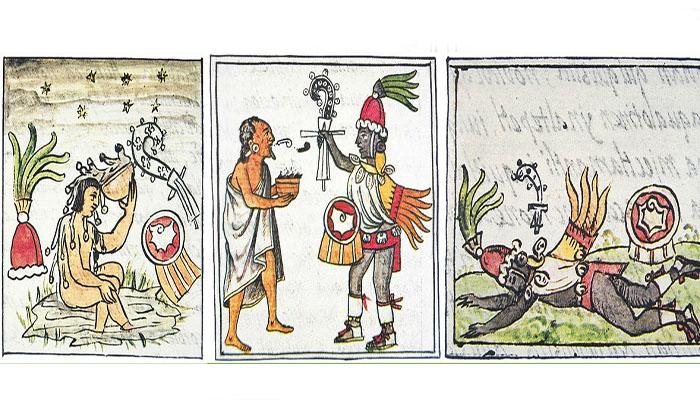 El mito azteca de Quetzalcóatl borracho