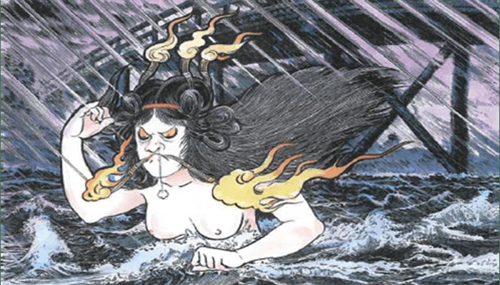 Uji no hashihime (Mujer en el Puente Uji)