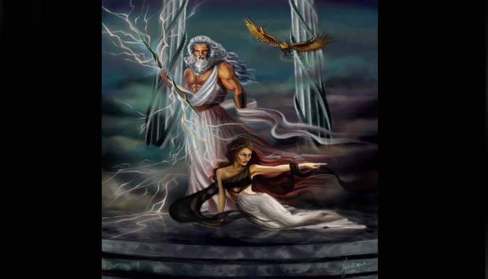 El miro de Zeus y Hera