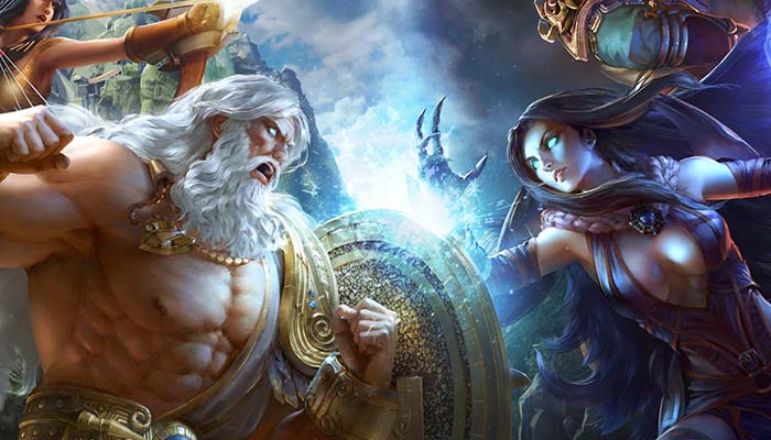 La rebelión de Hera contra Zeus