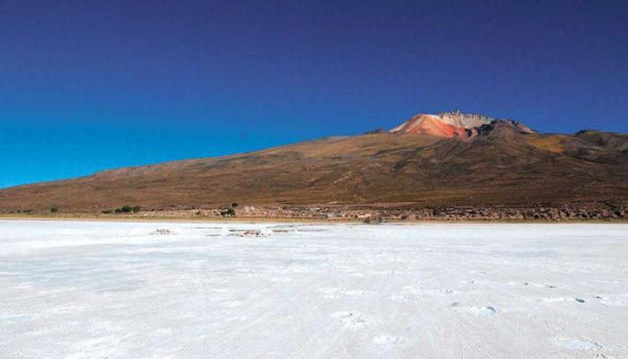 6. La leyenda del volcán Tunupa y su hijo Colchani