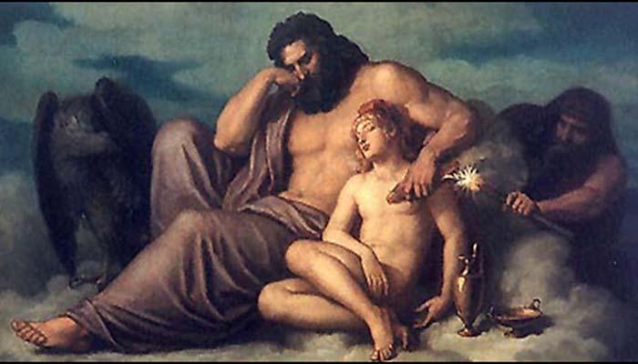 El Mito de Zeus y el Rapto De Ganimedes