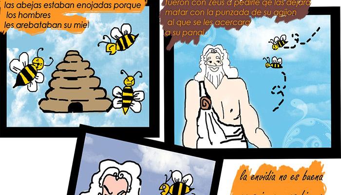 Júpiter y la abeja