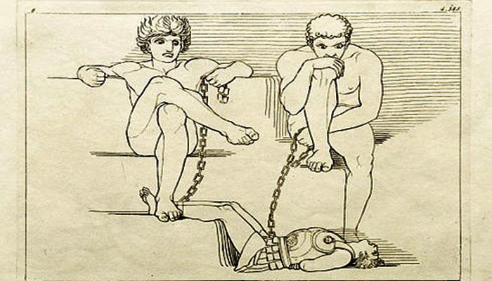 Ares y los Aloadae