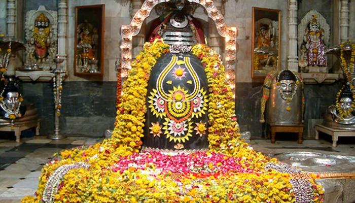 Altar del Shiva Lingam