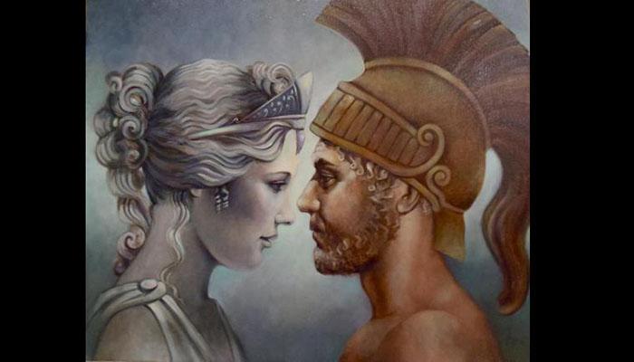 Afrodita y Ares