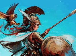 Mitos de atenea