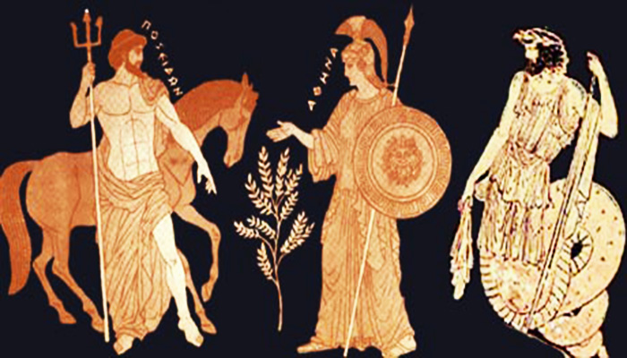 El concurso de Poseidón y Atenea
