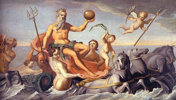 Poseidon y Anfitrite