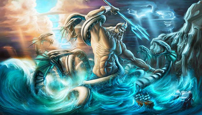 mitos de Poseidón, Agaeus Y La Maldición Fatal