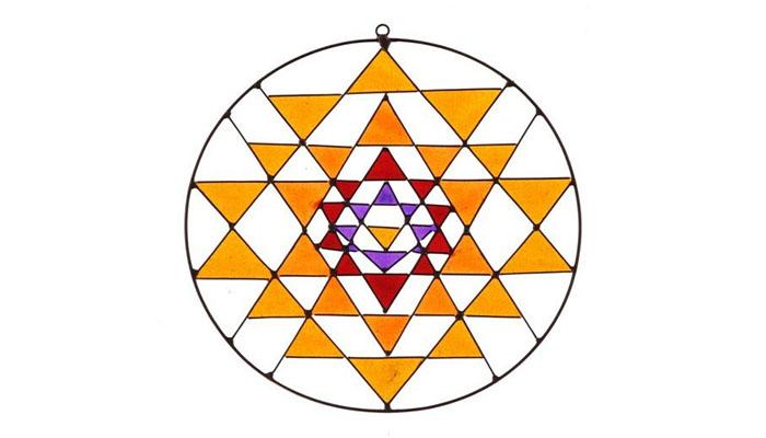 Geometría sagrada Yantra