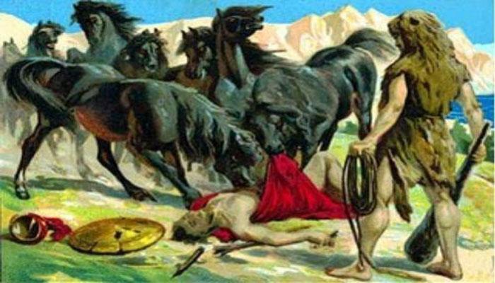 Los caballos de Diomedes